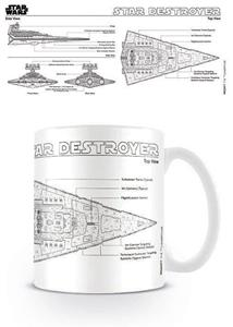 Tazza Star Wars. Star Destroyer Sketch - 2
