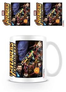 Tazza Avengers Infinity War. Space Montage