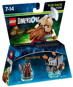 LEGO Dimensions Fun Pack Lord of the Rings. Gimli