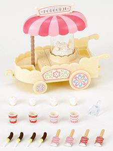 Sylvanian Families Carretto Pop-Corn-Pop Corn Cart 4610 - 3