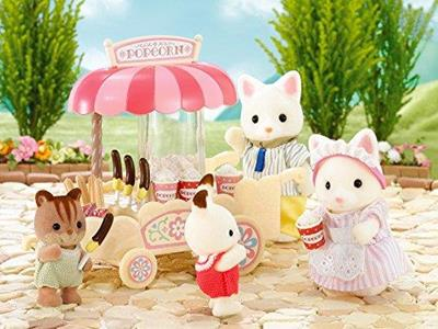 Sylvanian Families Carretto Pop-Corn-Pop Corn Cart 4610 - 4