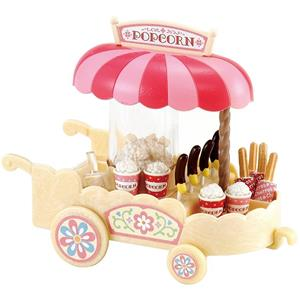 Sylvanian Families Carretto Pop-Corn-Pop Corn Cart 4610 - 5