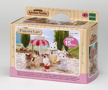 Sylvanian Families Carretto Pop-Corn-Pop Corn Cart 4610 - 6