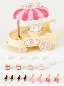 Sylvanian Families Carretto Pop-Corn-Pop Corn Cart 4610 - 7