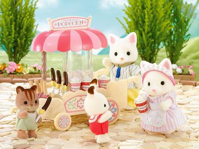 Sylvanian Families Carretto Pop-Corn-Pop Corn Cart 4610 - 8