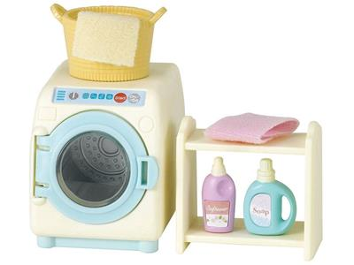 Sylvanian Families Set Lavatrice-Washing Machine Set 5027 - 2