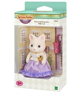 Sylvanian Families. Town Girl Series. Silk Cat - 2