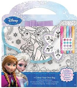 Frozen Borsa Da Colorare - 2
