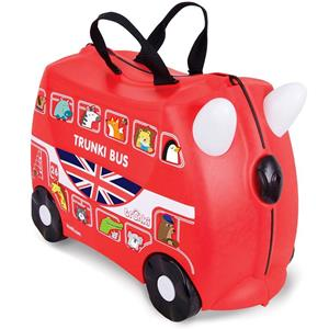 Valigia Cavalcabile Trunki Boris London Bus Red