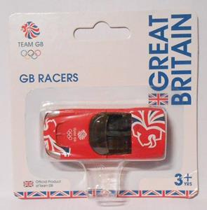 Corgi GB Racers GT Convertible Red London 2012 Diecast