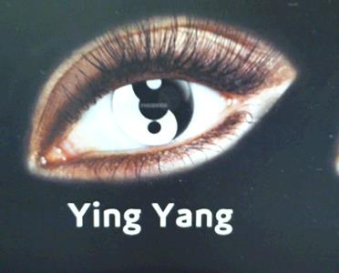 Lenti Ying Yang Cosmetiche Giornaliere