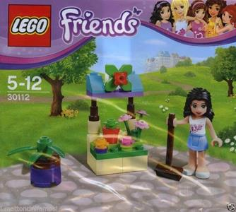 LEGO Friends (30112). Emmas Flower Stand Polybag