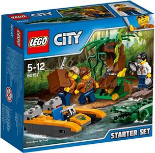 LEGO City In/Out 2017 (60157). Starter set della Giungla
