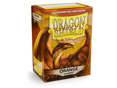 DRAGON SHIELD Proteggi carte standard pacchetto da 100 bustine Orange