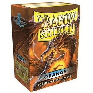 DRAGON SHIELD Proteggi carte standard pacchetto da 100 bustine Orange - 4