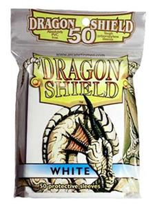 DRAGON SHIELD Proteggi carte standard pacchetto da 50 bustine White - 6