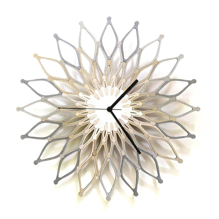 Orologio da parete moderno 59cm Fuochi d\'artificio III Ardeola