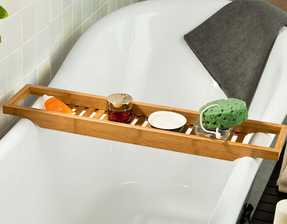 Ripiani In Legno Per Bagno : Ripiano per vasca da bagno legno sobuy sobuy casa e cucina ibs