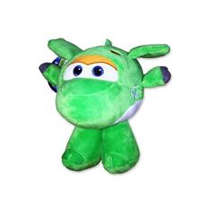 Super Wings Peluche Mira Aereo Robot 20Cm Ufficiale Flying Friends Plush