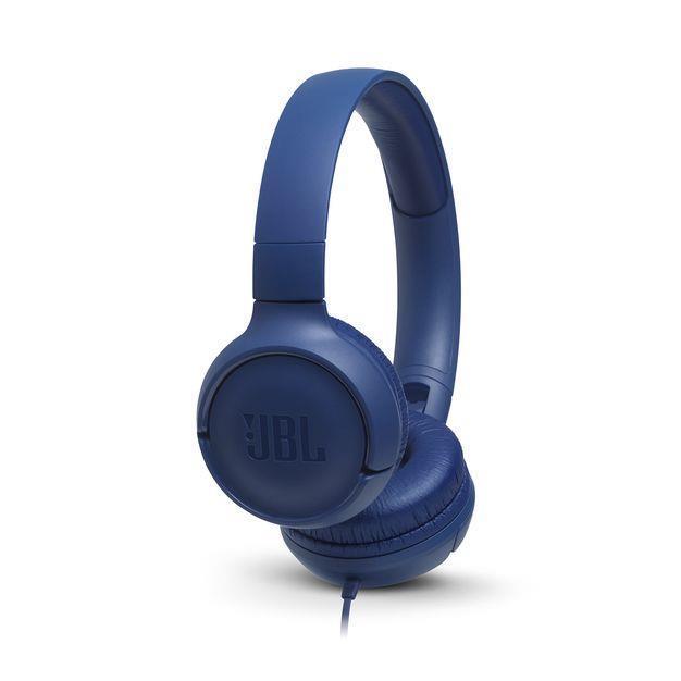 6e0c9631c0 JBL Tune 500 auricolare per telefono cellulare Stereofonico Padiglione  auricolare Blu Cablato