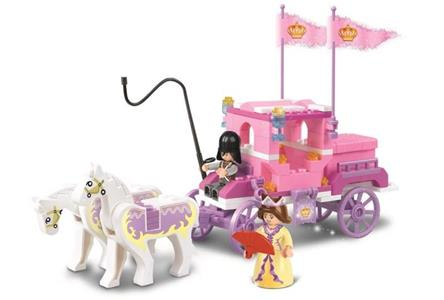 Sluban M38-B0250. Girl's Dream. La Carrozza Della Regina 137 Pz - 3