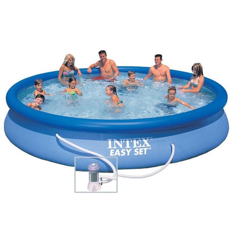Piscina easy pompa intex trading piscine e giochi in spiaggia giocattoli ibs - Pompa piscina intex ...