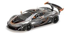 Mclaren P1 Gtr Chrome And Gloss Black 1:43 Model RIPALM 440105