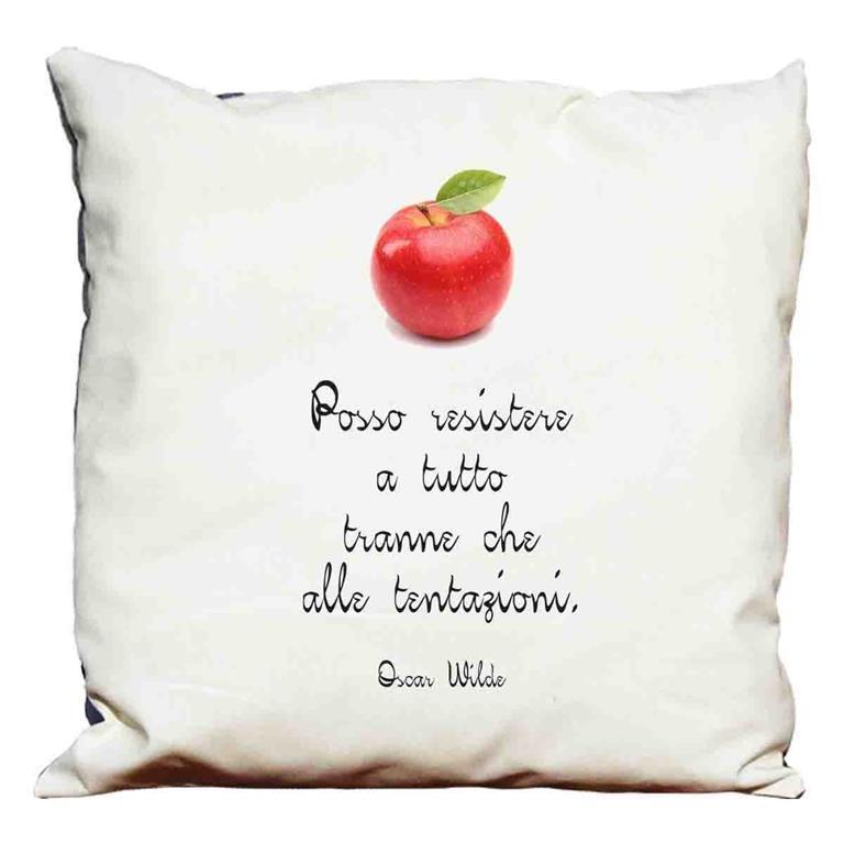 Cuscino decorativo Frasi d\'autore -Oscar Wilde 2 - Import - Casa e ...