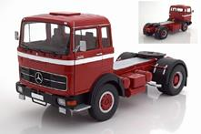 Mercedes LPS 1632 1969 Red / Black / White Camion Truck 1:18 Model RK180021