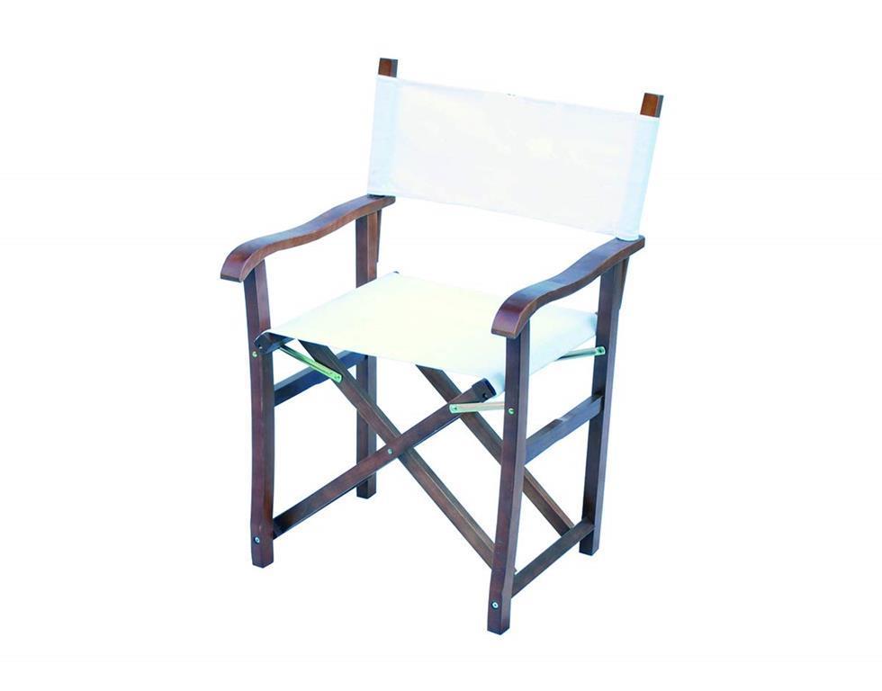 Sedie Pieghevoli Per Esterno.Set Due Sedie Pieghevoli Modello Regista Per Esterni In Legno