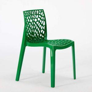 Sedie In Polipropilene Colorate.22 Sedie Gruvyer Polipropilene Colorate Bar Offerta Stock Verde