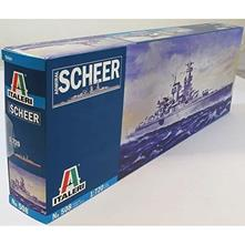 Admiral Scheer Ship Nave Plastic Kit 1:720 Model IT0508