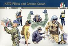 Nato Pilots And Ground Crews Plastic Kit 1:72 Model IT1246