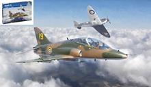 Hawk T1 Fighter Plastic Kit 1:72 Model IT1396