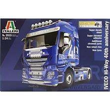Iveco Hi-Way 40th Aniversary Truck Plastic Kit 1:24 Model IT3919