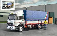 Iveco Turbostar 190.42 Canvas Truck Camion Plastic Kit 1:24 Model IT3939