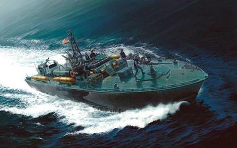 Modellino Italeri It5602 Elco Torpedo Boat Kit 1:35