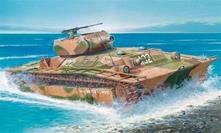 Italeri IT6396 LVT (A) CARRO ARMATO 4 Model Kit Scala 1:35