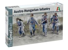 WWI Austro Hungarian Infantry 1914 Figure Plastic Kit 1:35 Model IT6528