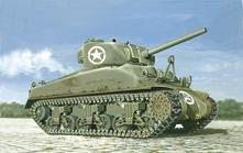 M4 Sherman Tank Carro Armato Plastic Kit 1:72 Model IT7003