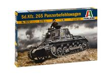 Sd Kfz 265 Panzer Befehlswagen Tank Plastic Kit 1:72 Model IT7072