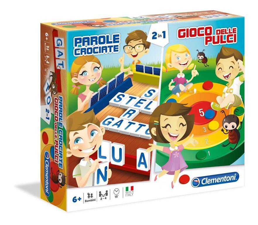 Parole crociate gioco delle pulci giochi da tavolo 2 in for Tavolo giardino delle parole chicco