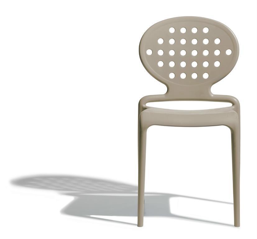 Set 4 sedie Colette Colore Tortora - Scab Design - Casa e Cucina | IBS