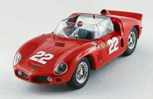 Ferrari Dino 246 SP #22 Le Mans Test 1961 Von Trips / Hill / Mairesse 1:43 Model AM0260