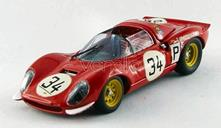 Am0266 Ferrari Dino 206 N.34 Accident Nurburgring 1967 Guichet-Muller 1.43 Modellino Art Model