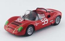 Bt9530 Abarth Sp 1000 N.59 15Th 1000 Km Monza 1968 Pasotti-Grano 1.43 Modellino Best Model
