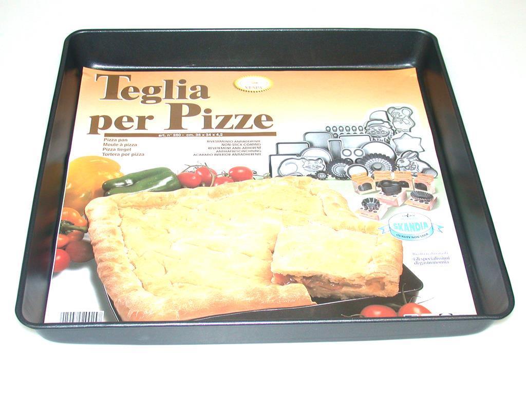 Vespa teglia pizza antiaderente 35x34x4.2 pentole e preparazione