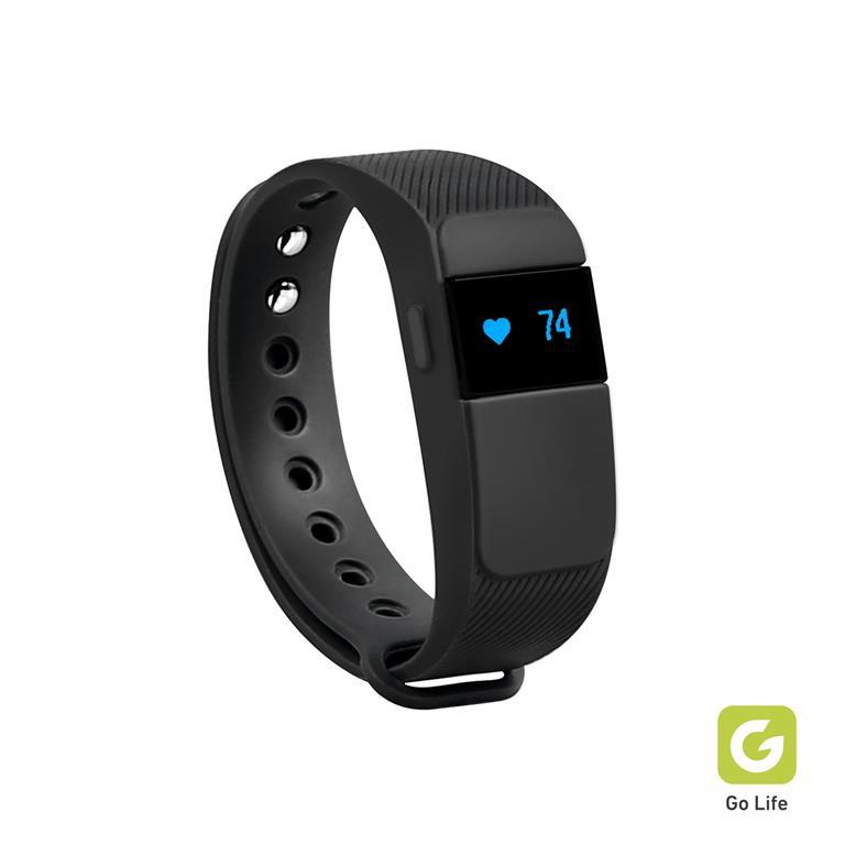 Fitness Tracker Con Contapassi Cardiofrequenzimetro E Monitoraggio Del Sonno Integrato Con App Gratuita Go Life Per Android E Ios Sbs Telefonia E Gps Ibs