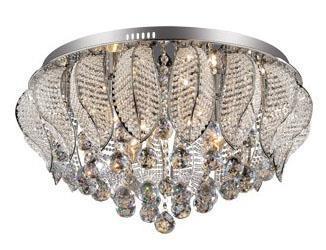 Ideal lux mozart pl illuminazione da soffitto cromo g w