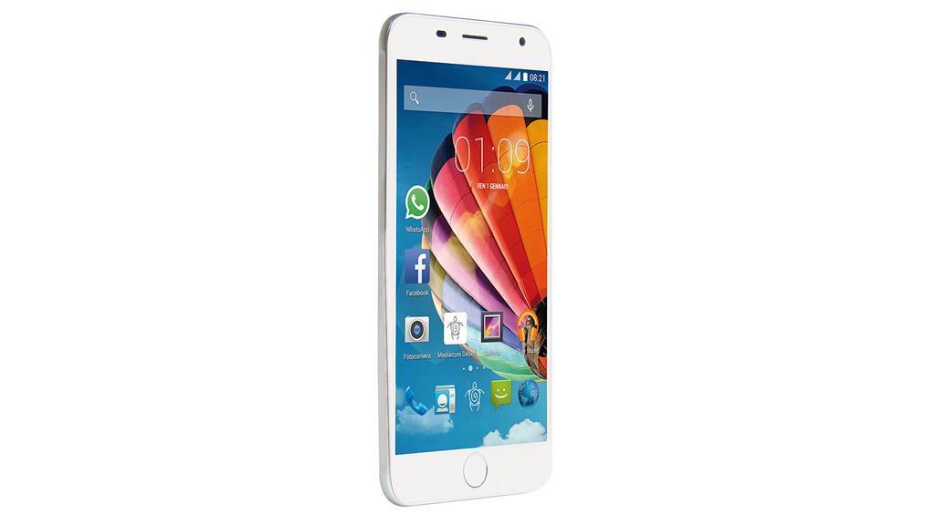 Smartphone Mediacom PhonePad S532L 16Gb Argento - Mediacom ... 498e7495882f